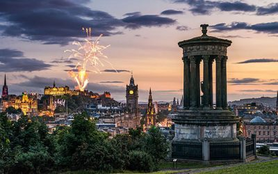 THEY SAY EDINBURGH'S POPULATION DOUBLES IN AUGUST